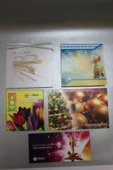 Поздравительные адресаты, открытки под заказ