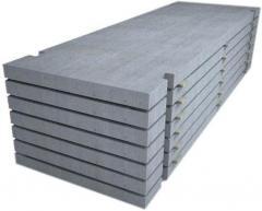 Plates reinforced concrete road PDN 14