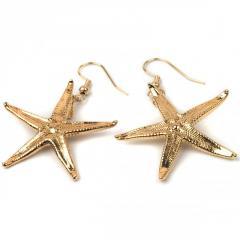 Earrings Ester Bijoux starfish gold