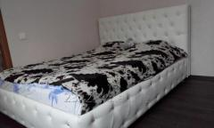 Leather beds and headboard to order