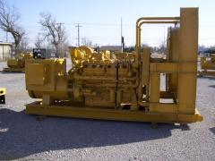 Газогенераторы Caterpillar, газовая электростанция