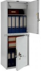 Металлический бухгалтерский шкаф КС-2-Т