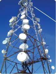 Systems of digital radio relay communication
