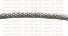 Трос стальной оцинкованный DIN 3055 в оплетке ПВХ