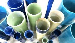 Fiberglass pipes of high pressure, to 25 MPas