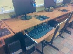 Furniture for educational institutions, audiences,