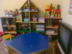 Furniture for kindergartens, a day nursery