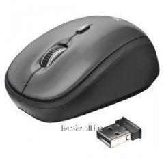 Мышка Trust черный Yvi Mini (Art:904372273)