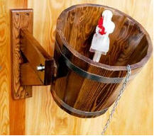 Мебель для бани, обливное устройство 20 л (кедр) П