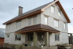 Foam concrete block for the house in Kostanay