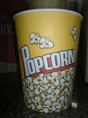 Glasses for popcorn