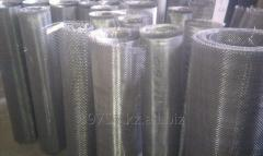 Grid woven filter of stainless steel