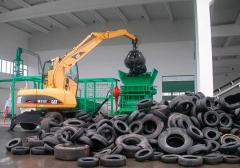 Utilization of old tires (from cargo cars)