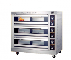 Cabinet oven 3-level