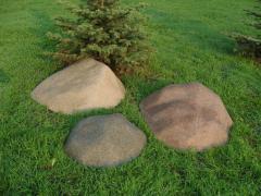 Boulders for landscape works