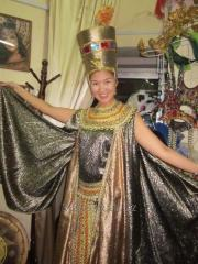 Cleopatra, Neffertiti suits for hire of Almaty of