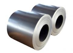 Zinc galvanized steel with a polymer coating