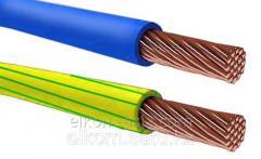 Провод ПВ 3- 1,5 зеленый (H07V-K)