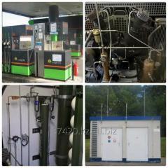 Газозаправочная компрессорная станция АГНКС,