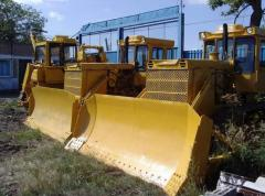 Spare parts for the bulldozer