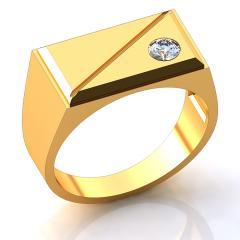 Кольцо БК018 Са?ина (Алтын 585) Фианит Эмаль