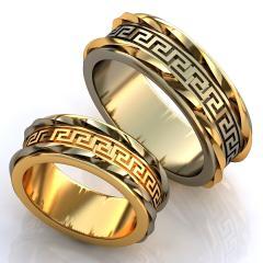Обручальное кольцо RNG010066 Са?ина (Алтын 585)