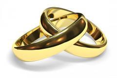 Обручальное кольцо Обр.к.4,3 Неке са?инасы (Алтын 585)