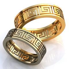 Обручальное кольцо RNG010009 Са?ина (Алтын 585)
