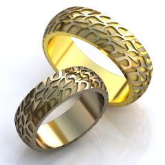 Обручальное кольцо RNG010013 Са?ина (Алтын 585)