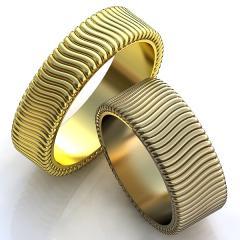 Обручальное кольцо RNG010071 Са?ина (Алтын 585)