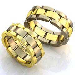 Обручальное кольцо RNG010047 Са?ина (Алтын 585)