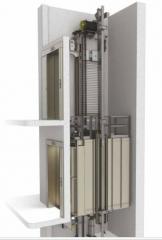 Лифты пассажирские без машинного отделения