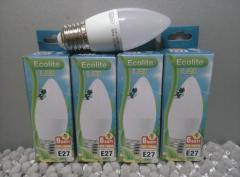 Led-bulbs of Ecolite 6 of Watts of E27 (Standard