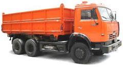 Dump trucks, KamAZ-45143 (agricultural nickname),