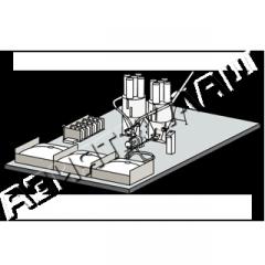 Комплекс для приготовления комбикорма КВО