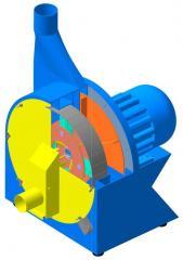 La descascarilladora de trigo DKR neumática