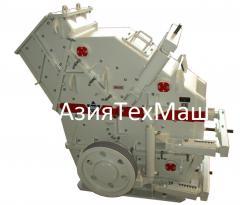 Hydraulic rotary crushing mills