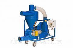 Pneumoconveyor of grain and other bulks