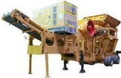Unidades para reciclagem de resíduos de construção