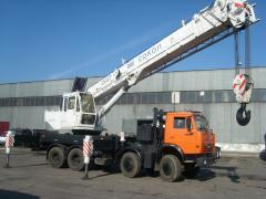 Automobile CKAT-40 crane, cranes, Automobile