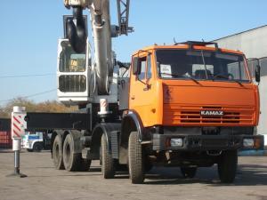 KAMAZ-6540, Automobile CKAT-40 crane, Automobile