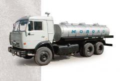 Tanker 5693-10, KamAZ-53215, trucks, Tankers