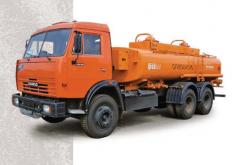 ATZ-56132 autofuel-servicing trucks (KAMAZ-53215