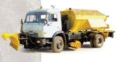 The car the combined MDK-48462 (KamAZ-43253