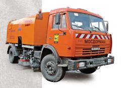 KUM-105 (583562) sweeping harvester, Cars
