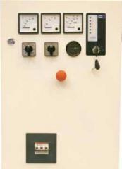 Digital control panels of generating installation