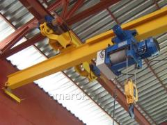 Crane of bridge 5 t electric