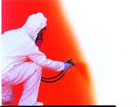 Weatherproof paints for internal works