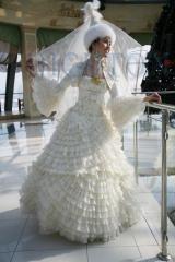 Казахские свадебные платья с приоритетной