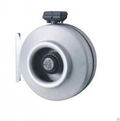 Круглый вентилятор канальный ВКК-100